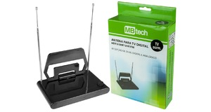 ANTENA DIGITAL INTERNA P/ TV / HDTV MBTECH - MB74014