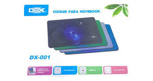 BASE P/ NOTEBOOK ATE 15.6 C/ COOLER LED DEX - DX-001