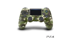 CONTROLE SONY DUALSHOCK 4 GREEN CAMOUFLAGE SEM FIO (COM LED FRONTAL)