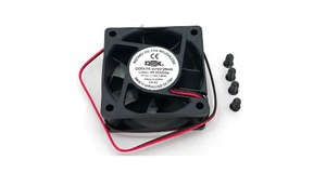 COOLER FAN 60MM X 60MM X 25MM PRETO DEX - DX-6C