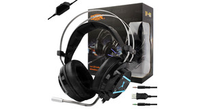 FONE HEADSET GAMER SUBWOOFER C/MICROFONE ( CABO 2,2M) DF 92