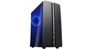 GABINETE GAMER BLUE MATRIX CG-06R8 ATX USB 3.0 C/LED - KMEX