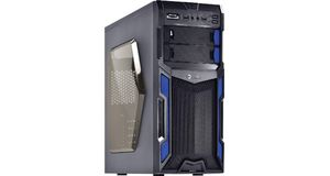 GABINETE GAMER VX TYPHOON AZUL