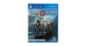 GOD 4 PS4 MÍDIA FÍSICA DUBLADO PORTUGUÊS GOD OF WAR 4 NOVO