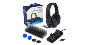 HEADSET  5IN1 GAME PACK FOR P4  SERIES  PS4  SLIM  PRO 7/7