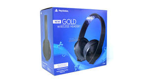 HEADSET SONY GOLD NEW CUHYA-0080 PS4 7.1 SEM FIO