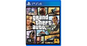 JOGO ORIGINAL PS4 GTA 5  GRAND THEFT AUTO V