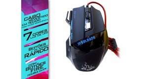 MOUSE GAMER USB 7D EXTREME 3000 DPI GM-700