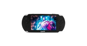 MP5 GAME PLAYER QUANTA QTMPG500 4GB RADIO FM/USB/SD 5 PRETO