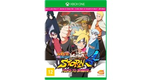 NARUTO ULTIMATE NINJA STORM 4 ROAD BORUTO XBOX ONE ORIGINAL
