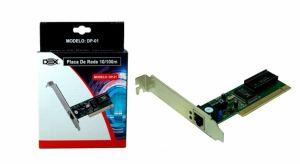 PLACA DE REDE PCI 10/100MB DEX - DP-01 / LEAVES - 224