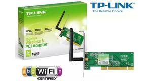 PLACA DE REDE TP-LINK PCI WIRELESS 150MBPS TL-WN751ND