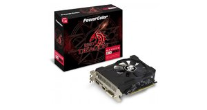 PLACA DE VIDEO AMD POWER COLOR RADEON RX 550 4GB DDR5 128 BITS (DVI, HDMI, DP)