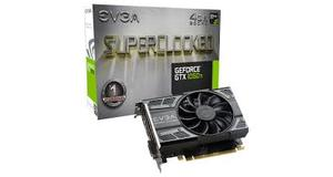 PLACA DE VÍDEO NVIDIA EVGA GEFORCE GTX 1050 TI SC  4GB GDDR5