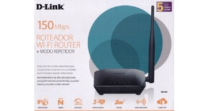 ROTEADOR D-LINK DIR-608 WIRELESS 150MBPS 10/100MBPS